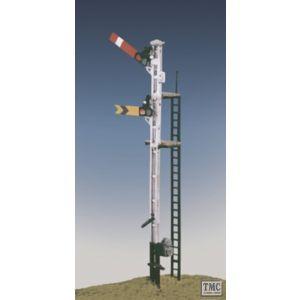 492 Ratio SR Rail Post Home & Distant (2 arms 1 post) OO Gauge Plastic Kit