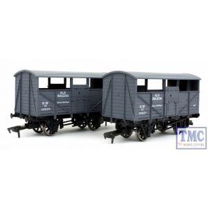 4F-020-019 Dapol OO Gauge Ale Wagon Twin Pack GWR 38625 & 38627