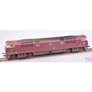 4D-003-015 Dapol OO Gauge Class 52 D1034 Western Dragoon Maroon SYP Nameplates Parts and Deluxe Weathering by TMC
