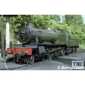 4S-001-005D Dapol OO Gauge 7800 Class No. 7819 'Hinton Manor' BR Early Black (DCC-Fitted)