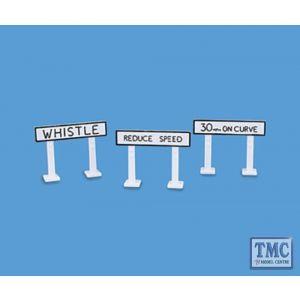 5052 Modelscene OO Gauge Track Signs