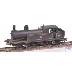 Bachmann OO Gauge L&YR 2-4-2 Tank 50647 BR Black E/Emb Screw Link Real Coal Shed 26C Renumbered & Weathered by TMC