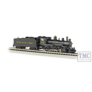 51460 Bachmann N Scale Baldwin 4-6-0 - DCC On Board - C & O 387