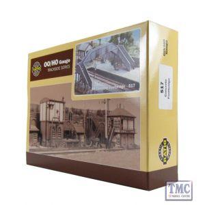 517 Ratio Concrete Footbridge OO Gauge Plastic Kit
