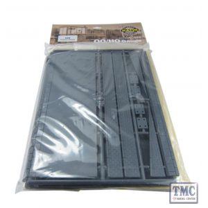 520 Ratio Platform/Ramps (480mm long x 92mm wide) OO Gauge Plastic Kit