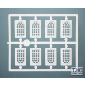 523 Ratio Industrial Windows OO Gauge Plastic Kit