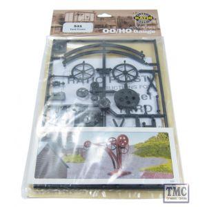 531 Ratio Yard Crane OO Gauge Plastic Kit
