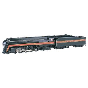53201 Bachmann HO Scale Norfolk & Western 4-8-4 Class J #611 Railfan (DCC Sound)