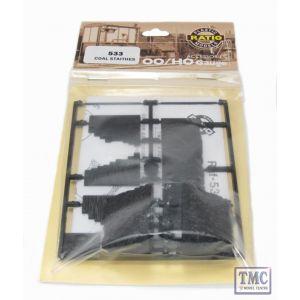 533 Ratio Coal Staithes OO Gauge Plastic Kit