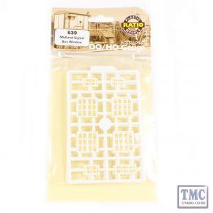 539 Ratio Midland Signal Box Window Mouldings OO Gauge Plastic Kit