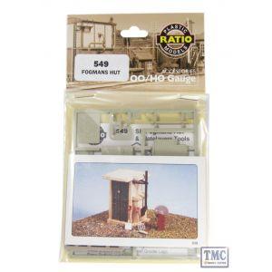 549 Ratio Fogmans Hut OO Gauge Plastic Kit