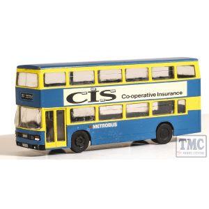 5502 Modelscene OO/HO Gauge Leyland Olympian Double Decker Bus London Buses Metro