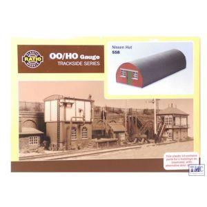 558 Ratio OO/HO Gauge Nissen Hut