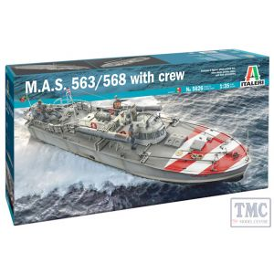 5626 Italeri 1:35 Scale M.A.S. 568 4a Serie with crew