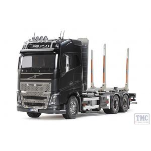 56360 Tamiya 1/14 Scale Volvo FH16 Globetrotter 750 6x4 Timber Truck