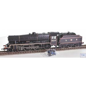 31-190 Bachmann OO Gauge LMS 5XP 'Jubilee' with Riveted Tender 45575 'Madras' BR (Ex-LMS) Black (British Railways)