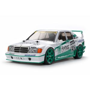 58656 Tamiya Mercedes 190 E E2 ZAKSPEED DEBIS TT-01E