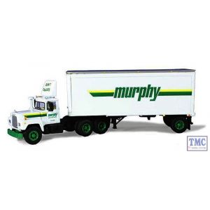 60-0242 First Gear 1:64 SCALE Mack R Model 'Murphy Motor Freight' with 28' Pup Trailer