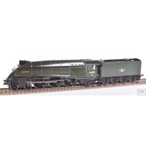 Hornby OO Gauge 4-6-2 Class A4 Bittern 60019 BR Green L/Crest Crew Coal Renamed/Renumbered & Glossed by TMC (R3522)(Pre-owned)