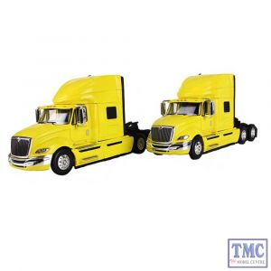 60-0292 First Gear 1:64 SCALE International ProStar+ High-Roof Sleeper Tractor Yellow