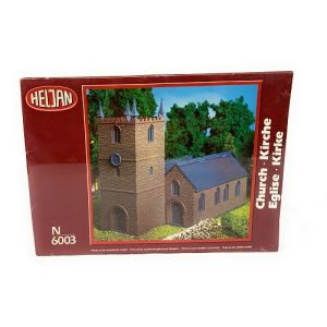 Heljan English Church N Scale Kit No 6003 (Pre owned)