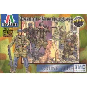 Italeri World War II German Paratroopers Nr. 6045 1:72 (Pre owned)