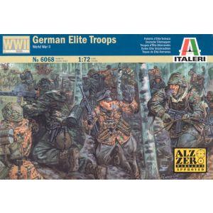 Italeri German Elite Troops Nr. 6068 1:72 (Pre owned)