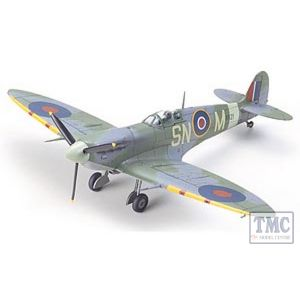 60756 Tamiya 1:72 Scale Spitfire Mk.Vb/Mk.Vb Trop.