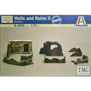 Italeri Walls and Ruins II World War II Nr. 6090 1:72 (Pre owned)