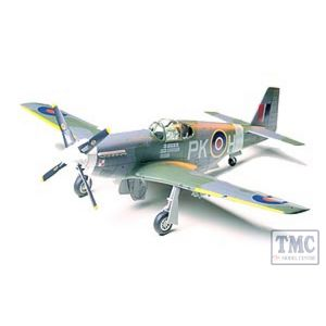 61047 Tamiya 1:48 Scale N.A. RAF Mustang III