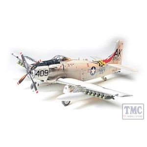 61058 Tamiya 1:48 Scale Skyraider U. S. Navy