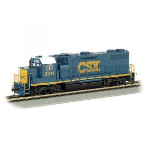 61119 Bachmann HO Gauge (US Ouline) GP38-2 Diesel Locomotive CSX #2511 (Dark Future) *DCC Fitted*