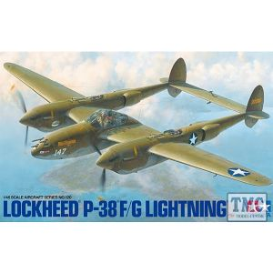 61120 Tamiya 1:48 Scale P - 38 F/G Lightning