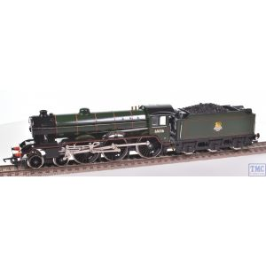 Hornby OO Gauge Class B17 Leeds United 61656 BR Grn E/Emb Coal Crew Renumbered & Glossed by TMC (R060)(Pre-owned)