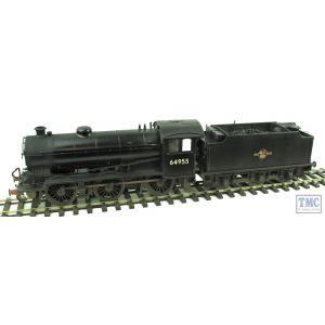 64955 SanCheng FineScaleBrass O Gauge J39 BR Black L/C Numbered Glazed Real Coal & Weathered by TMC
