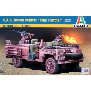 6501 Italeri 1/35 S.A.S. Recon Vehicle Model Kit
