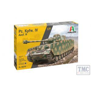 6578 Italeri 1:35 Scale Pz. Kpfw. IV Ausf. H