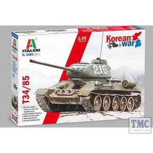 6585 Italeri 1:35 Scale T-34/85 Korean War