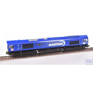 Bachmann OO Gauge Class 66 66005 Maritime Intermodal One DB MARITIME Blue Re-Sprayed/Renamed/Renumbered