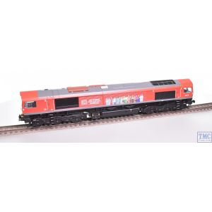Bachmann OO Gauge Class 66 Delivering For Our Key Workers 66113 DB Livery *TMC Limited Run* Full Respray and Renumbering