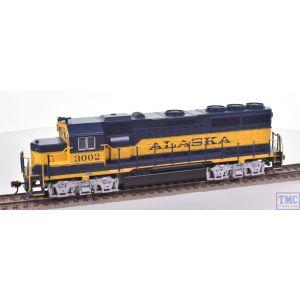 66303 Bachmann HO Gauge (US Outline) EMD GP40 Diesel Loco #3002 Alaska (DCC Sound Value)