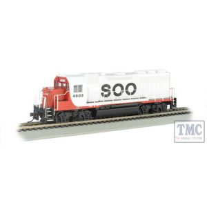 66304 HO Scale EMD GP40 Diesel Soo Line #4603 (DCC Sound Value)