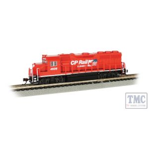 66353 Bachmann N Scale GP40 - Canadian Pacific #4608 (CP Railway System W/Flag)