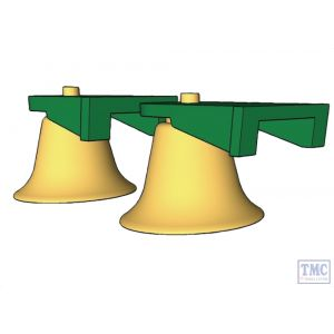 66779BELL 3D Printed Brass Bell for Class 66 66779 (£15.00 Loose, £20.00 Fitted)
