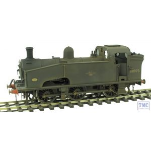 68975 SanCheng FineScaleBrass O Gauge J50 BR Black L/C Numbered Glazed Real Coal & Weathered by TMC