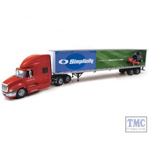 69-0202 First Gear 1:64 SCALE International ProStar+ with 53' Trailer 'Simplicity'