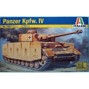 Italeri 1:72 Panzer Kpfw. IV Model Kit No 7007 (Pre owned)