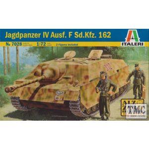 Italeri 1:72 Jagdpanzer IV Ausf. F Sd.Kfz. 162 Model Kit No 7028 (Pre owned)