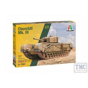 7083 Italeri 1:72 Scale Churchill Mk. III