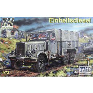 ZV Models No. 72001 1:72 Einheitsdiesel (Pre owned)